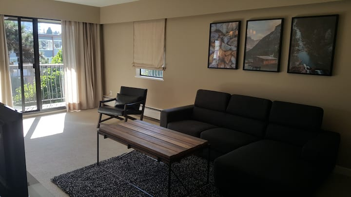 Cozy & Spacious Furnished 1 Bedroom Across VGH