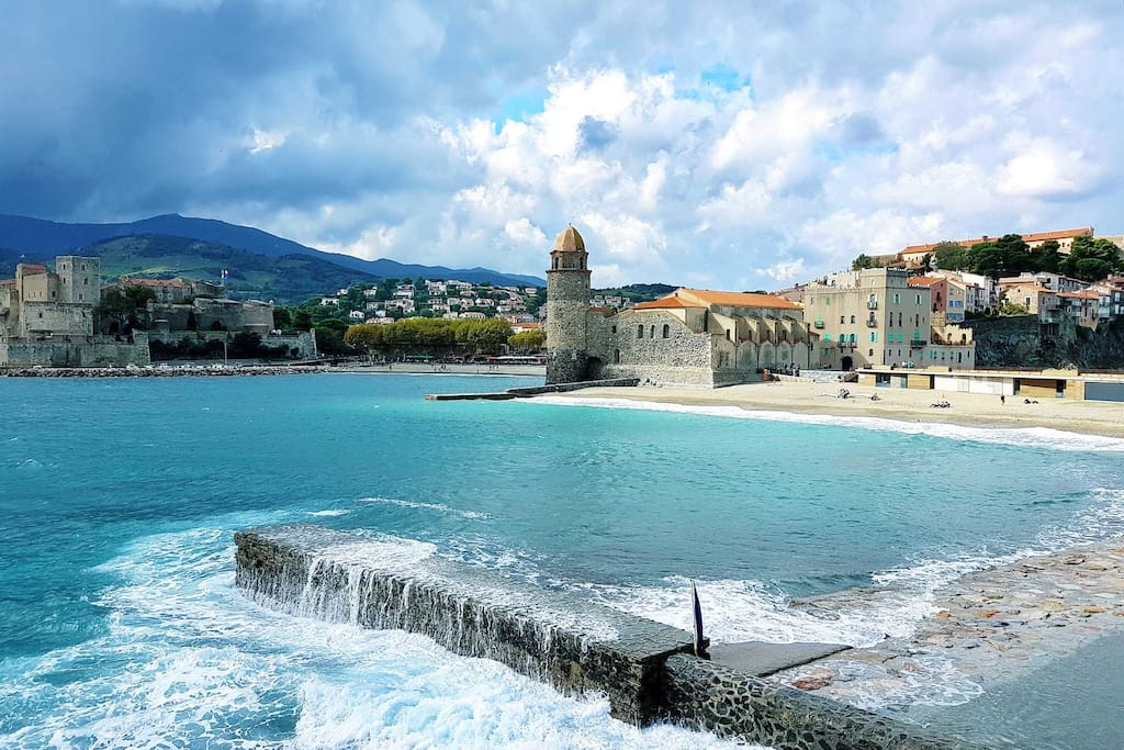 20 minutes de Collioure - 20 minutes to Collioure