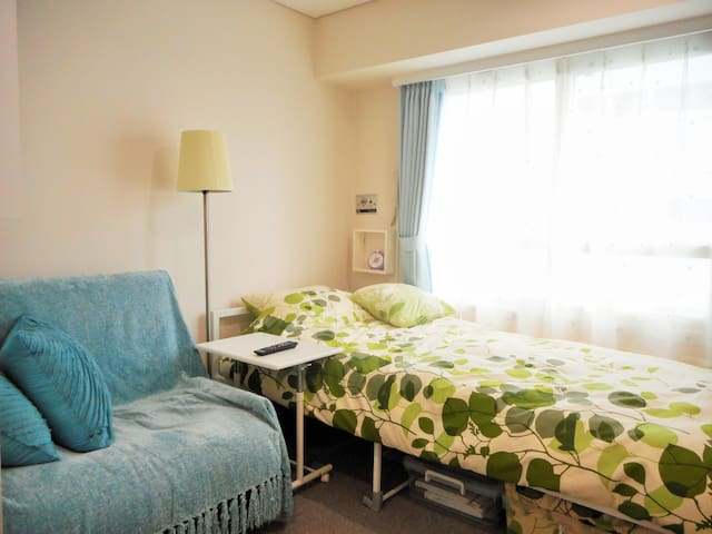 Close to Susukino Sta. Cozy studio - Sapporo - Apartamento