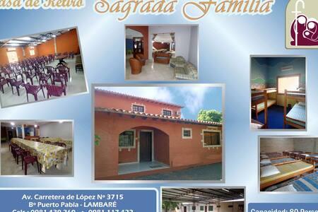 Casa de Retiro Sagrada Familia (80 camas) - Lambaré