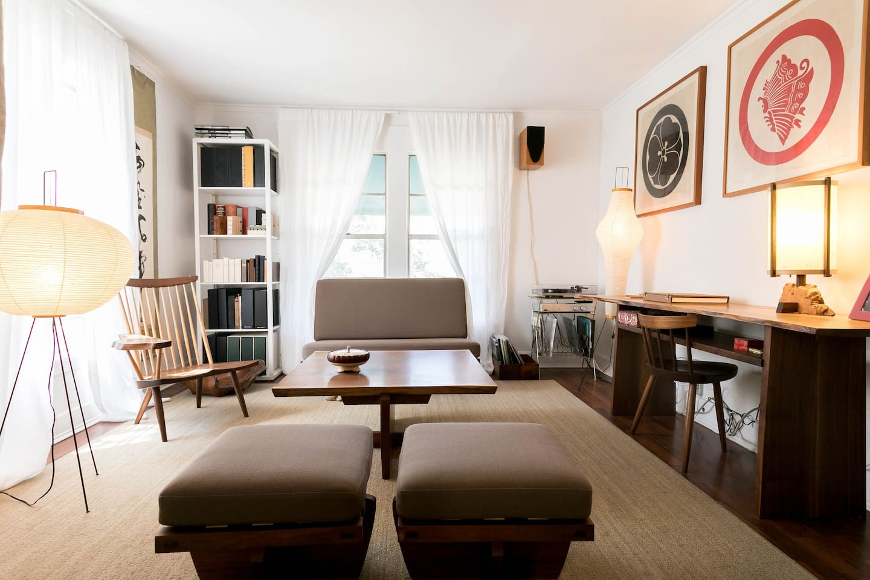 Living Room- George Nakashima Furniture