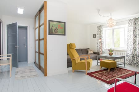 Modernist 2-room apt in the Quiet Centre of Rīga - Riga - Lakás
