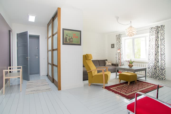 Designer Living in the Quiet Centre of Rīga
