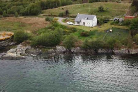 Detached House with Stunning Loch View near Skye.