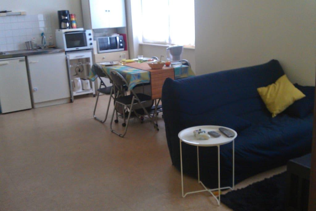 t2 lit double clic clac centre brest appartements louer brest bretagne france. Black Bedroom Furniture Sets. Home Design Ideas