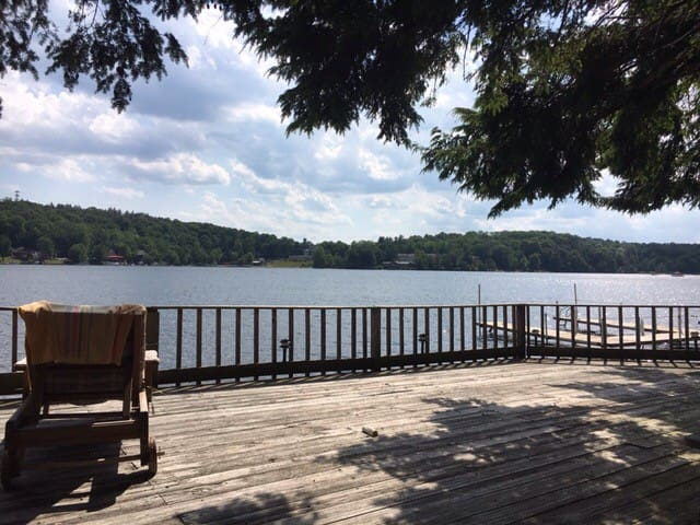 Lakeside Cottage near Bethel Woods - White Lake - Casa