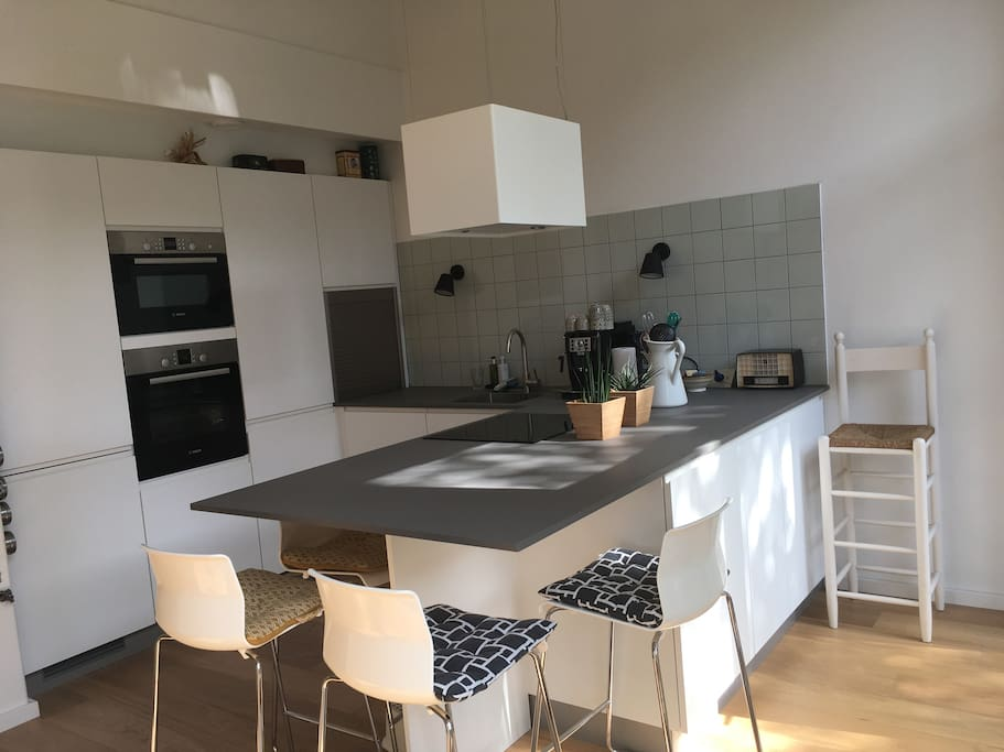 Fully equipped brand new kitchen