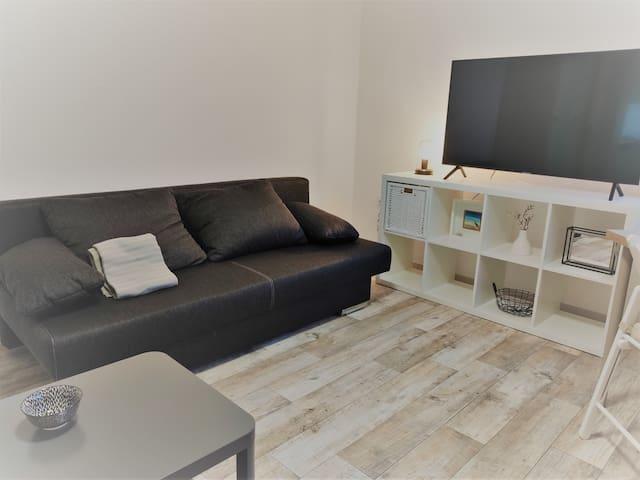 Apartment mitten in der Stadt