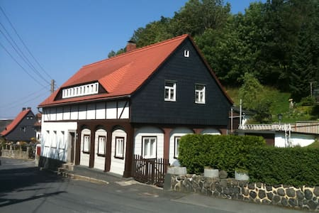 Umgebindehaus in Zittauer Mountains - Casa