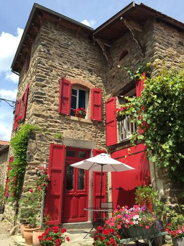 """le Carlina"" Blesle 43450 - Blesle - Haus"