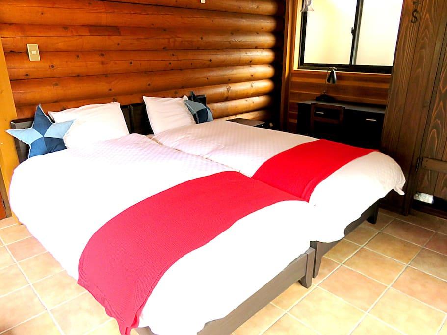 The third piece of 3 bedrooms.