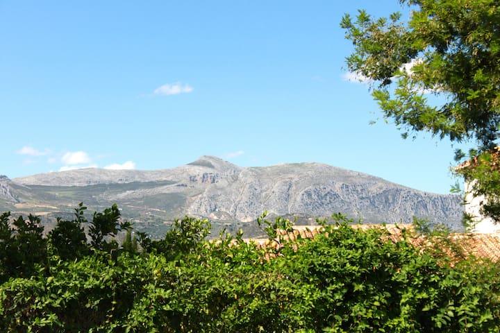 The view of El Chorro/Valle de Abdalajis