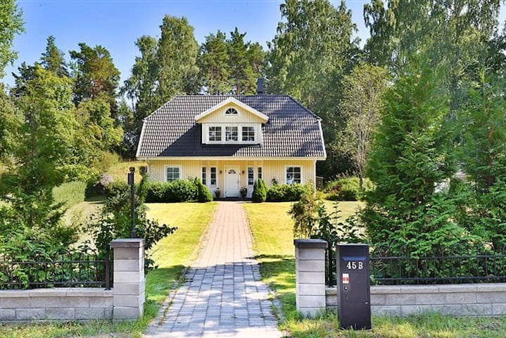 Villa in Älta, near nature and Stockholm city