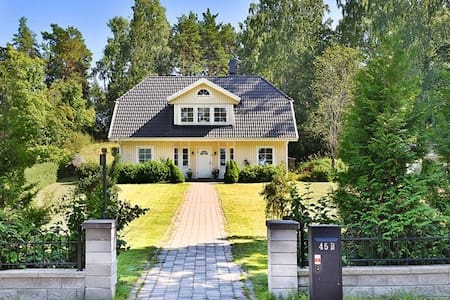 Villa in Älta, near nature and city - Älta