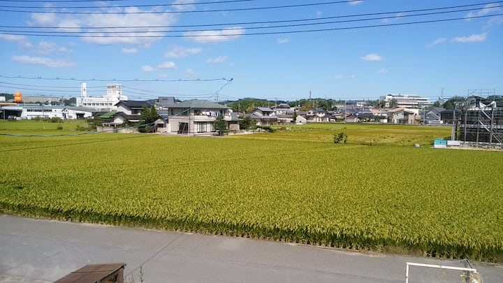 倉敷、岡山、直島へ便利な家