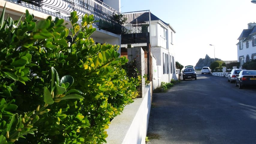 a very nice garden-level appartment - Plobannalec-Lesconil - House