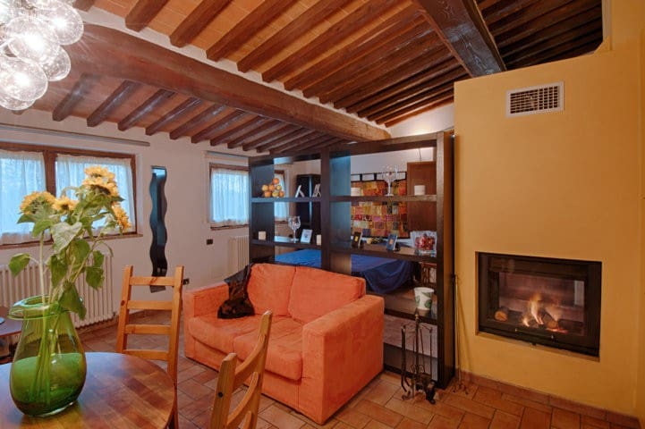 Romantic cottage in Tuscan style - Siena - Apartamento