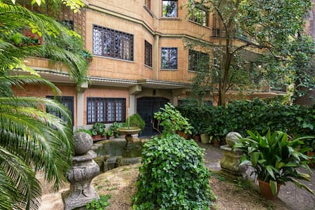 +8 Pers/1.5km Vatican&SPeter/Garden - Roma - Apartment