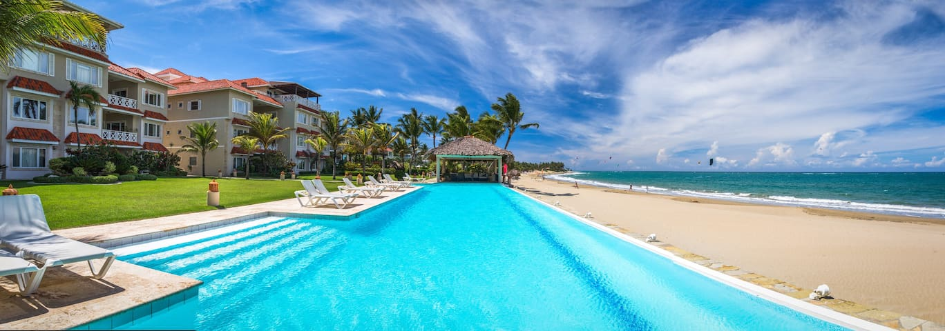Beach Front HARMONY- 4 Bdr/3 Bath by SEALANE - Cabarete - Apartment