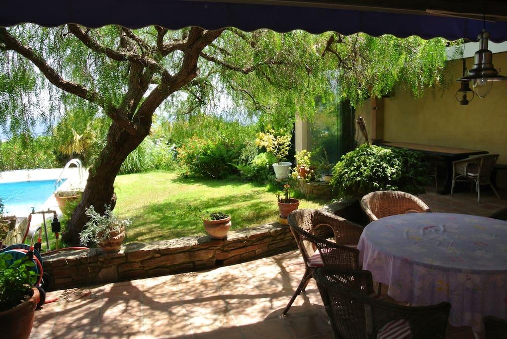 Superbe villa avec piscine vue mer villas louer le - Le lavandou camping avec piscine ...