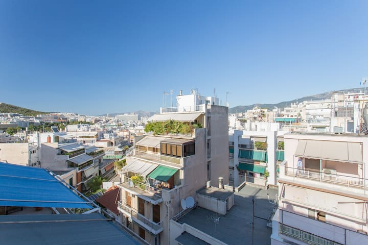 Quiet Apartment in Athens Center - Athina - Appartamento