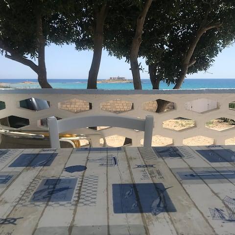 villa fascinosa a  50 mt spiaggia