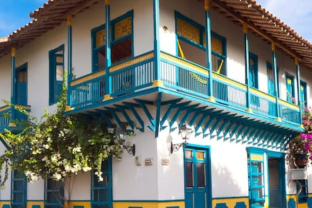 Cauca Viejo - Boutique Parasiempre - Jerico - Bed & Breakfast