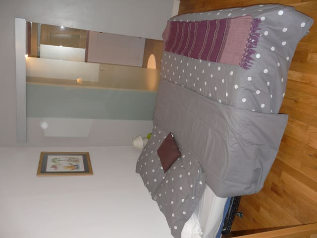 Chambre 2 pers Lille proche gares - Lille - House