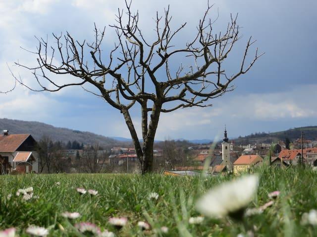 Spring...apple...