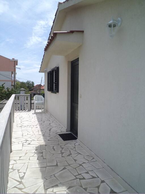 First terrase