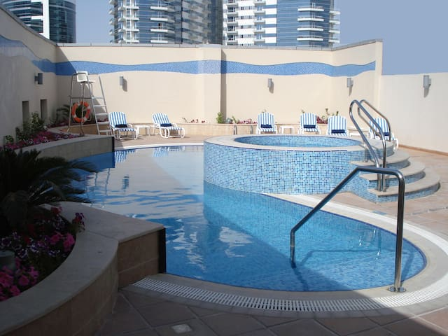 Amaze Furnished Studio in hotel with daily clean