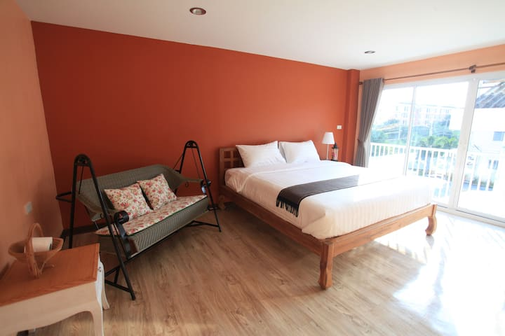 Free Airport Transfer(BKK)Comfy room near airport