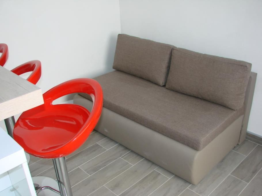 Living room, Surface: 2 m²