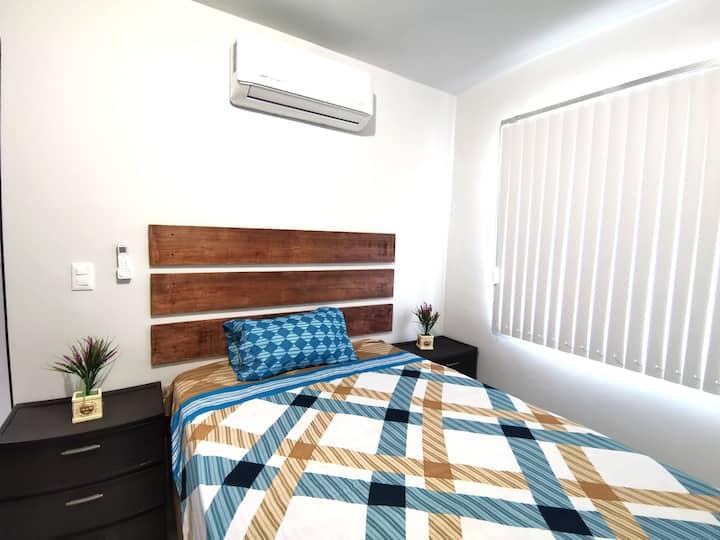 #1 Habitación c/baño a 5 min del Centro de Tampico