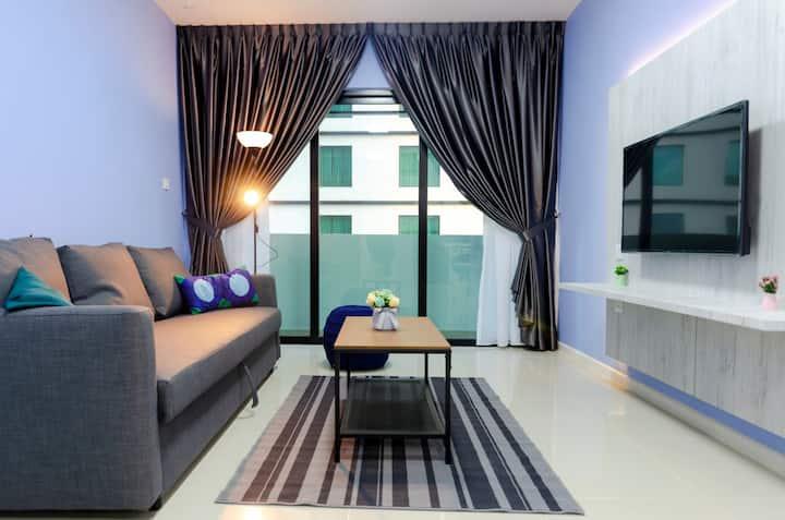 Cozy & High Floor Suite in Suasana JB 15, Views