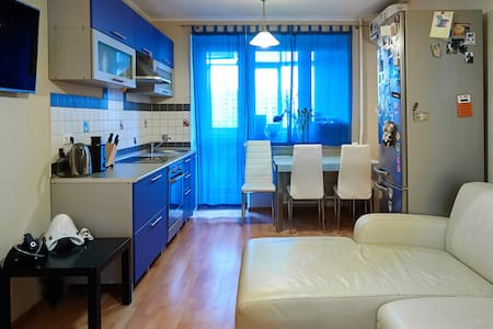 Cozy studio with private room  - Appartamento