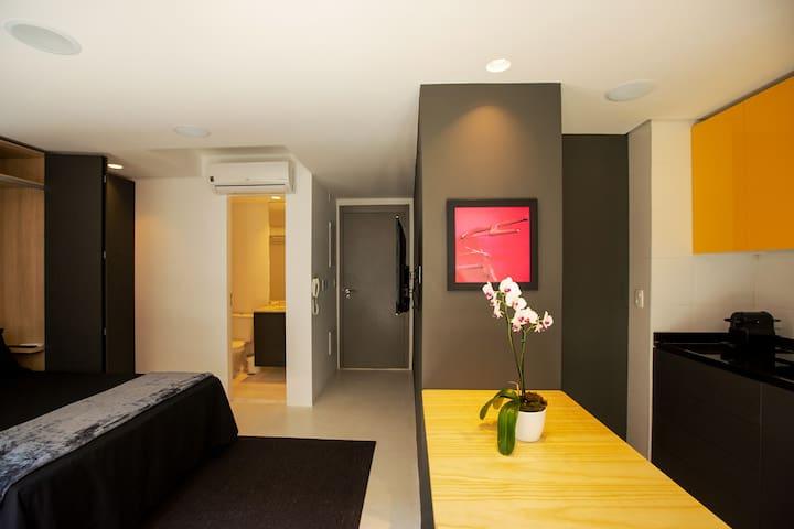 Modern and versatile Studio 2 in Vila Madalena, SP