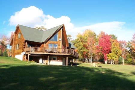 Custom Catskill log cabin - Fleischmanns