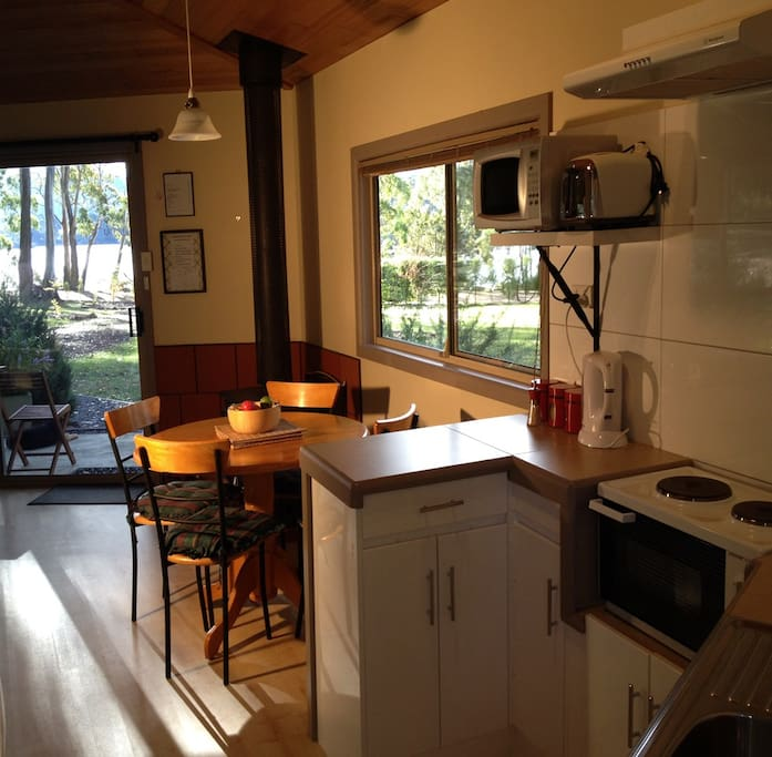 brand new cottage with full amenities