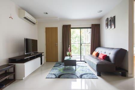 HUGE/NEW 50-sqm ONE-BED FLAT (ZP#1) - Bangkok - Wohnung
