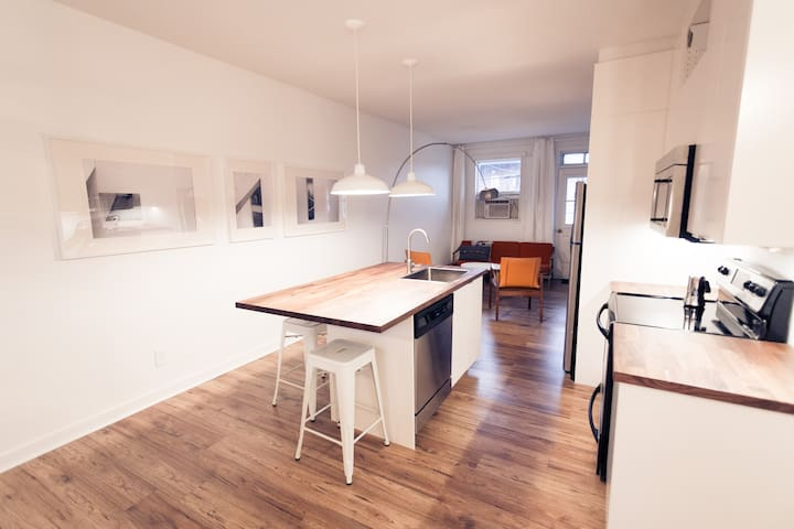 Open plan loft - Villeray - Montreal - Loft