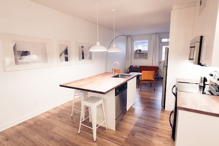 Open plan loft - Villeray