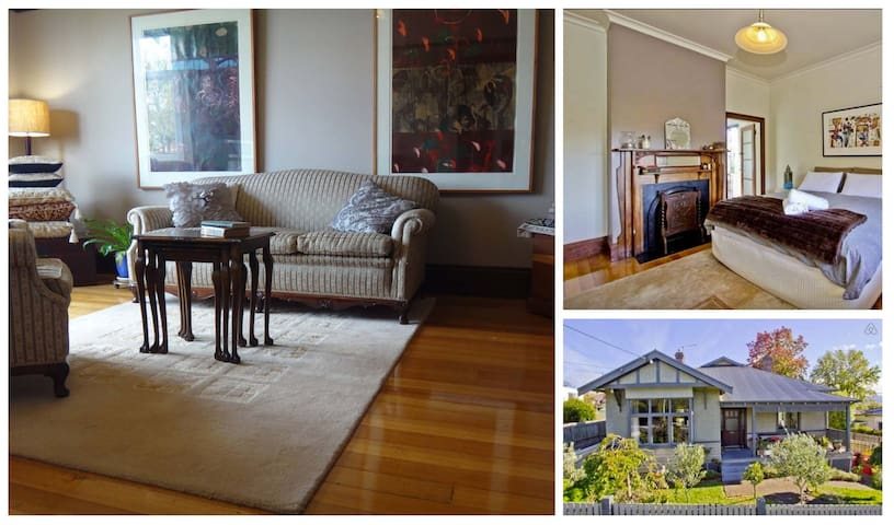 Sassy, spacious and private lounge. - West Launceston - Apartament