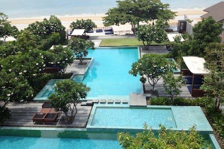 baan sanpleum beach front in town - Tambon Hua Hin