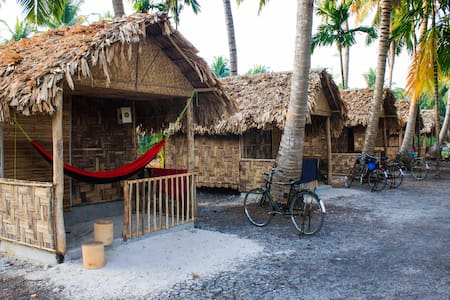Eco Huts in Elephant Resort, Neil island, beach №3 - Chalet