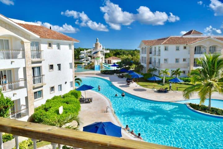 Pool View Cadaques Caribe Apt 2+2 BR Bayahibe - Los Melones - Apartamento
