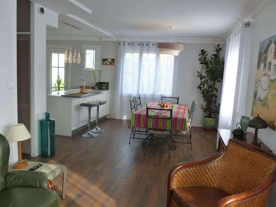 Appartement lumineux avec jardin perpignan 66 - Jardin maison contemporaine perpignan ...