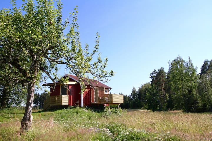 A cosy cottage in the heart of the Swedish forest