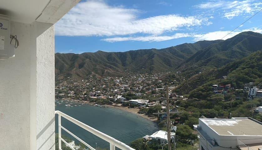Doble vista panorámica, Taganga Santa marta