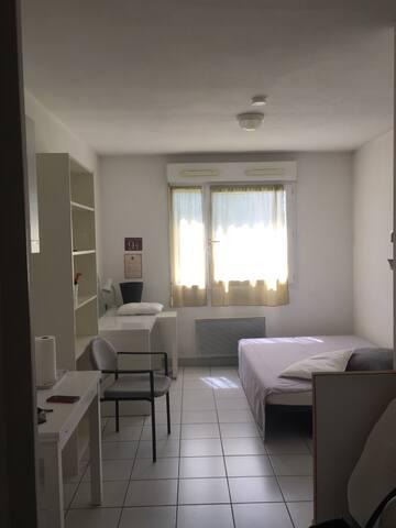 Studio proche Grenoble dans résidence calme
